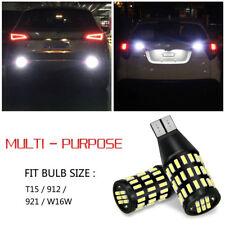 54smd Error Free Backup Reverse Light 921 LED Bulbs for 03~17 Honda Accord Civic