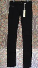 Diesel Livier Super Slim Jegging OR800 Stretch Size 29 Black