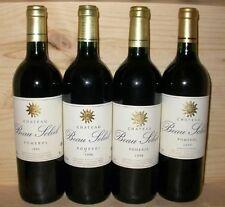 +++ 3 bouteilles Château BEAU SOLEIL POMEROL 1995 +++