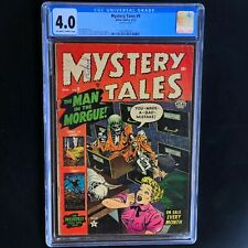 MYSTERY TALES #9 (Atlas 1953) 💥 CGC 4.0 OW-W 💥 Bill Everett PCH Zombie Cover!