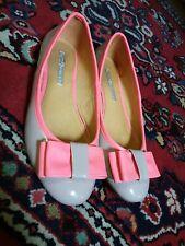 Sehr schöne Schuhe Ballerina's 5 Buffalo London 1x getr. Lackleder Beige Pink 38