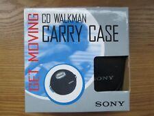 SONY CD WALKMAN CARRY CASE -Get Moving MINT IN ORIGINAL BOX (406)