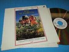 """Jean De Florette (Y. Montand, Gerard Depardieu) Laserdisc - PAL - 12"""" Laserdisc"""