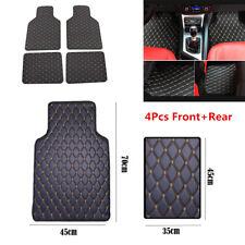 PU Leather Car Floor Mat Set Of 4 Front&Rear Carpet Auto Interior Accessories