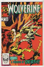 Wolverine #9 (Jul 1989, Marvel) Peter David, Gene Colan -v