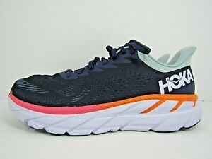 WOMEN'S HOKA ONE CLIFTON 7 size 9  ! RUNNING! WORN LESS THAN 10 MILES!