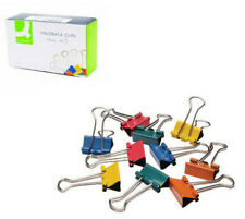 Assorted Colour Fold Back Clips Paper Clips Bulldog Clips 19mm, 24mm, 32mm