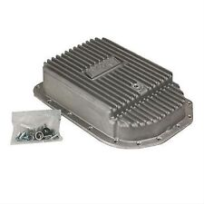 B & M 70295 Cast Deep Automatic Transmission Oil Pan for GM 4L80E