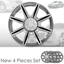 New 16 inch ABS Chrome Hubcaps Wheel Rim Covers Hubcaps Set 541 For Toyota