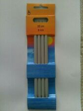 Plastic Twilleys Knitting Needles 15mm 40cm Long