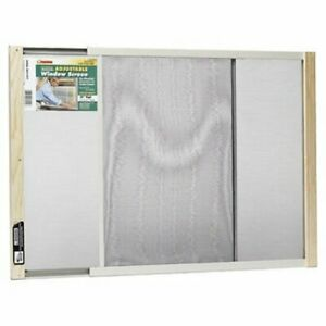 Frost King WB Marvin AWS1837 Adjustable Window Screen, Fits 21-37in Wide