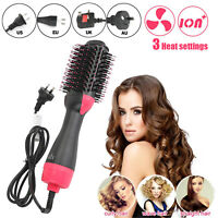 2 In 1 One Step Sèche-cheveux Brosse Styler Straightening Curling Comb  FR