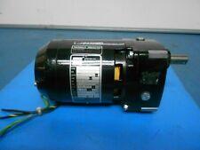 Bodine Gear motor NCI-13D3 115 volt 1/4 HP 1400 RPM 9.6 torque 12:1 ratio
