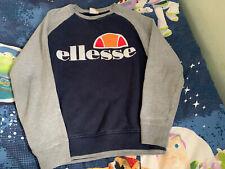 Woman's Ellesse Blue Jumper Size XS