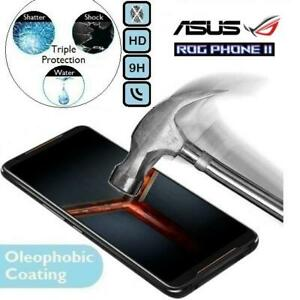 100%Genuine Tempered Glass 9H Screen Protector (ZS660KL II) For Asus ROG Phone 2