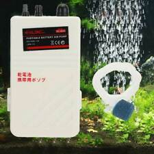 Portable Aquarium Emergency Battery Operated Air Pump Fishing Aerator Oxygen
