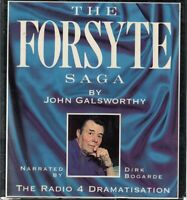 John Galsworthy The Forsyte Saga 6 Cassettev Audio Book BBC Radio Drama
