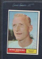 1961 Topps #034 Wynn Hawkins Indians VG *27