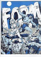 FOOM #14 1976 Conan Issue Marvel Fanzine HTF Friends of Ol' Marvel