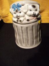 Pot Céramique 16 x 10 cm motif déco petits cochons -