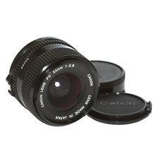 Canon Fd Lente 24mm 1:2,8 Lente Gran Angular Vom