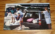 Original 1992 Volvo Dealer Installed Options Sales Brochure 92 240 740 940 960