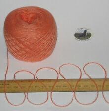 50g ball Pale Orange 4 ply knitting yarn 51% wool 49% acrylic SOFT Nasturtium