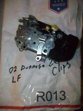 2002 DODGE DURANGO DRIVER LEFT FRONT LF DOOR LATCH W/ACTUATOR TESTED#R013