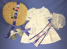 American Girl Felicity Summer Dress Outfit COMPLETE!
