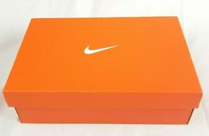 NIKE Air Orange Empty Shoe Box Storage US 12 Mens No Shoes - BOX ONLY