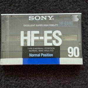 SONY HF-ES 90 (Japan Domestic Market), cassette tape, Type I, NOS