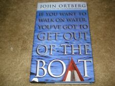 If You Want To Walk On Water You've Got to Get Out of the Boat (2001 Hc/Dj)