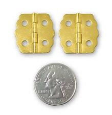 Polished Brass Humidor Jewel Box Hinges ~ Trinket Box Craft Projects ~ by Pld