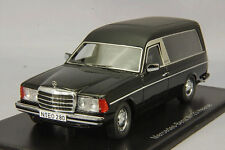 1 43 NEO Resin Model Mercedes-Benz MB W123 Hearse 1978 Black #.45280