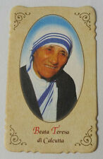 Santino Holy Card Preghiera alla Beata Teresa di Calcutta