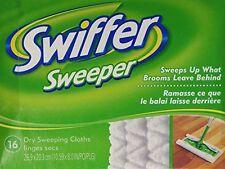 Swiffer Dry Disp Cloths Reg 16