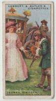 Highwayman Thomas Simpson 90+ Y/O Ad Trade Card