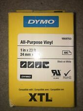 1666753 DYMO XTL All-Purpose - Permanent adhesive indoor/outdoor vinyl tape - bl