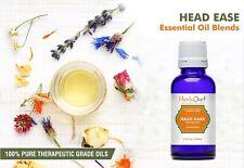 Essential Oil Blends HEAD EASE OIL BLEND Natural Therapeutic Oils Fight Headache