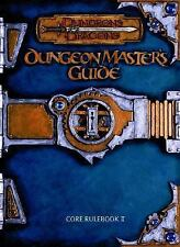"""""""DUNGEONS & DRAGONS: DUNGEON MASTER'S GUIDE CORE RULEBOOK II"""" 2000 1ST HC ED VG+"""