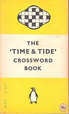 THE 'TIME & TIDE' CROSSWORD BOOK by CURLEW and SARDONYX - 1954