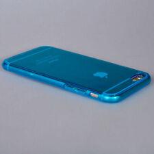 "iPhone 6  6S Case (4.7"")- Ultra Thin Transparent Crystal-Blue TPU Gel Case"