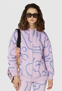 Gorman Life Drawing Zip Sweater ~ Size M Brand New With Tag