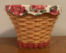 New ListingLongaberger May Series 2002 Geranium Basket Liner And Protector