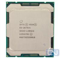 50MB 20 Core Intel Xeon E5-2673 V4 2.3GHz 9.6GT/s SR2KE LGA2011-3 Fair Grade CPU
