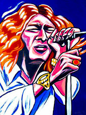ROBERT PLANT PRINT poster led zeppelin cd band of joy angel dance clarksdale lp