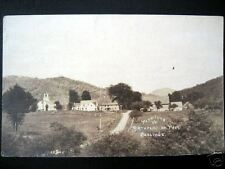 Plymouth VT ~ 1900's TOWN VIEW~ PRESIDENT COOLIDGE~RPPC