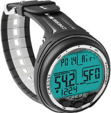 Cressi Giotto Dive Computer Black/Gray ~ New ~ Authorized Dealer