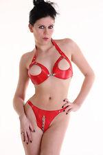 Lingerie Sexy lot avec chaine: soutien-gorge + string / ensemble de chaines: +