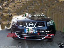 Modanature abs cromo paraurto anteriore per Nissan Qashqai qashqai +2 new 10-13